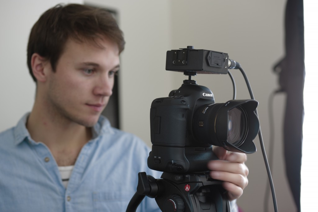 Johan Bodell m kamera